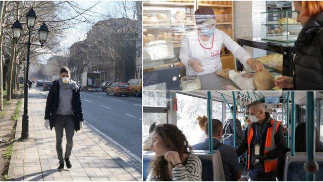 Mbi 1500 të infektuar aktivë në Tiranë, si është