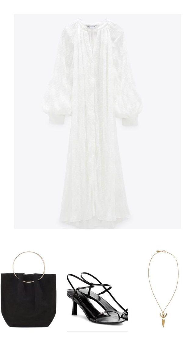 Si të veshim një fustan në tri mënyra
