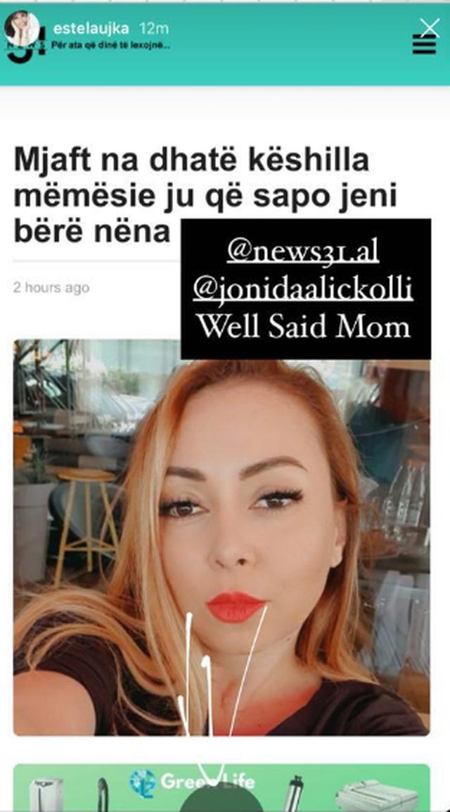 Gazetarja Jonida Aliçkolli: Mjaft na dhatë këshilla