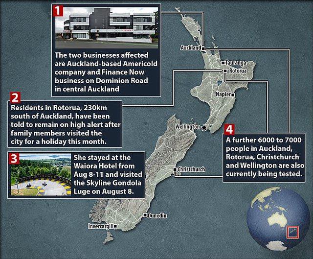 Zv.kryeministri zbulon si u rikthye sërish virusi në Zelandën e