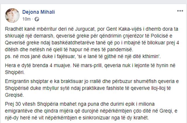Dejona Mihali, zëdhënësja e VV: Gent Kakavijës i dhemb dora