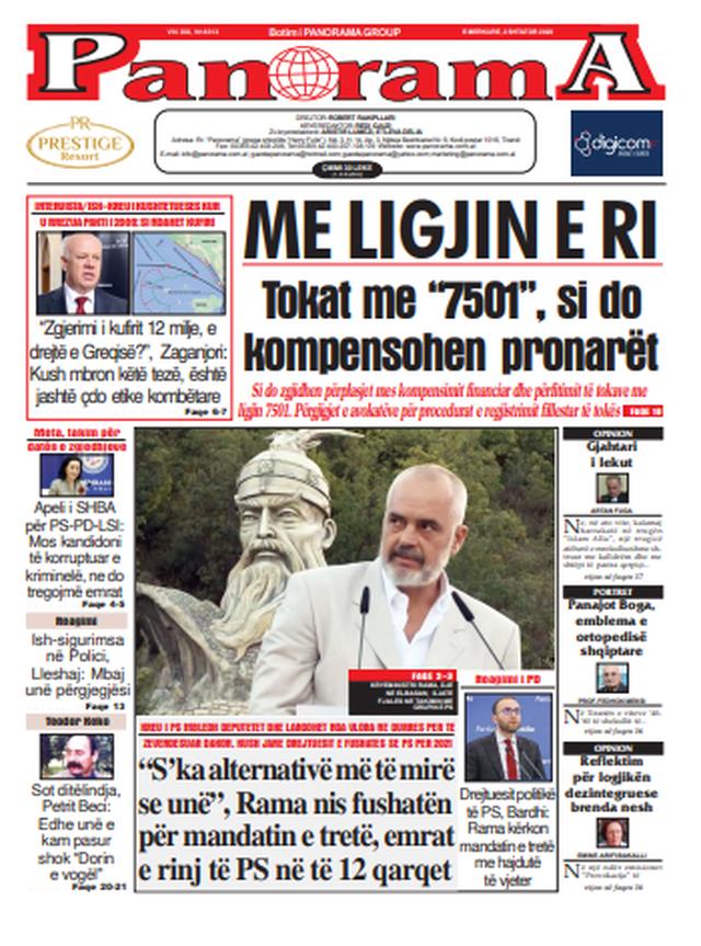 Gazetat komentojnë Ramën në Durrës si spostim për Dakon