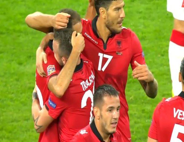 Sokol Cikalleshi i bën gol Bjellorusisë