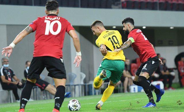 Shqipëria prek fundin ndaj Lituanisë