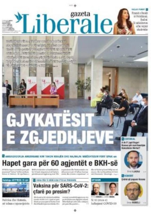 Shtypi/ Titujt kryesorë të gazetave për datën 9 shtator 2020