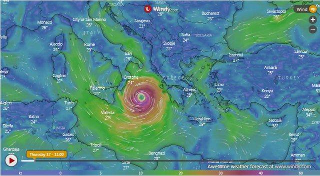 Qytetet që do të preken më shumë nga cikloni në