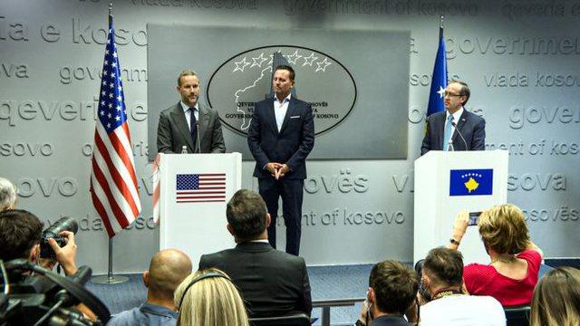 Grenell në Kosovë: Një çek i madh po vjen. Trump më