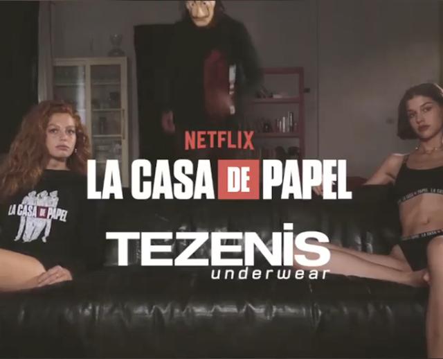 Video/ Tezenis frymëzohet nga 'La Casa de Papel' për