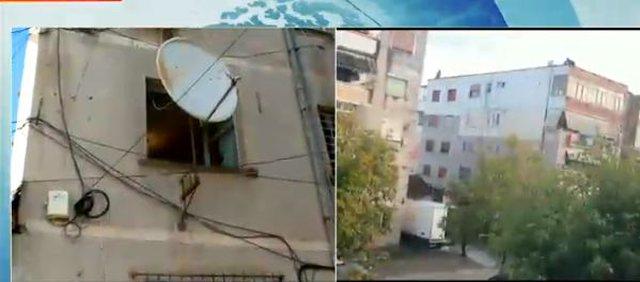 Pamje nga shtëpia e 71 vjeçarit të ekzekutuar në Elbasan,