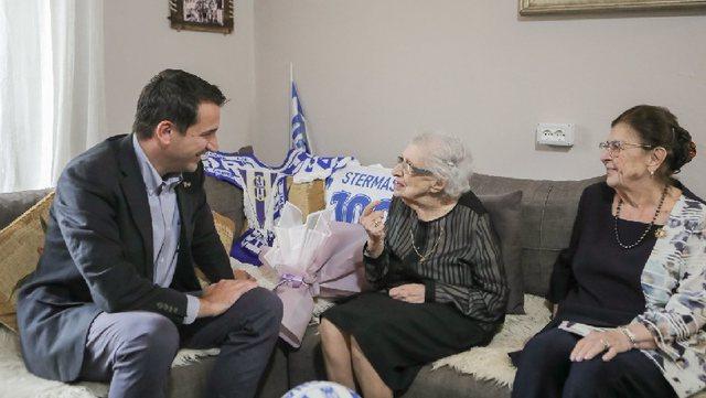 Veliaj viziton për 100-vjetorin bashkëshorten e ikonës së