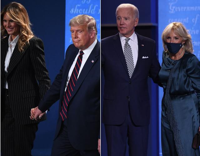 Si u veshën gratë e kandidatëve për presidentë? Pas
