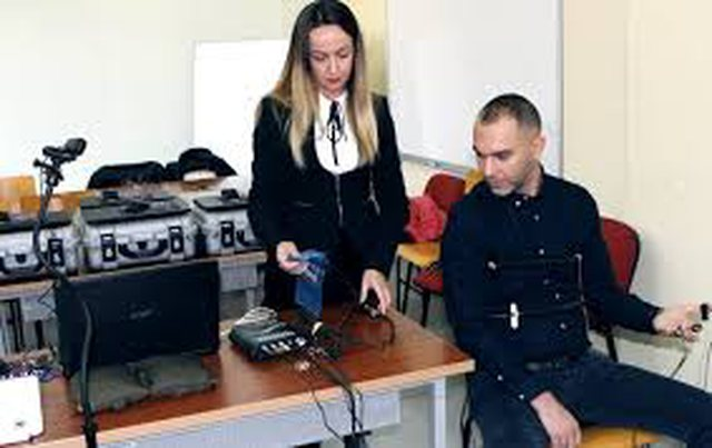 Competition for investigators in the Albanian FBI. After the logic test comes