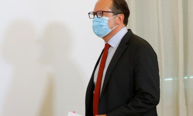 Austrian Foreign Minister infected with Covid-19, test for all members of