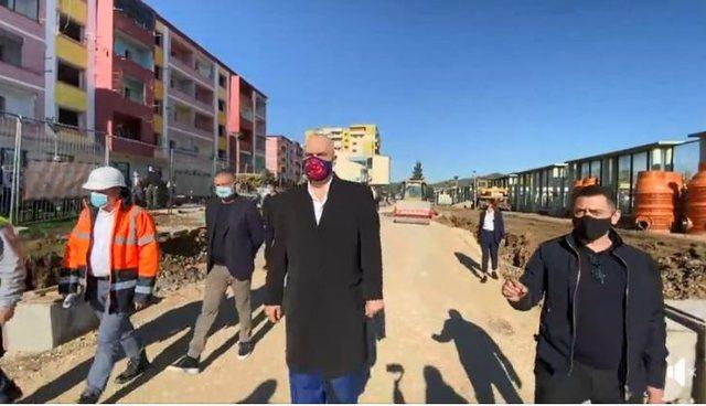 Rama inspekton rindërtimet në Vorë: 404 familjet që