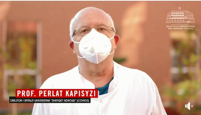 Drejtori i Spitalit 'Shefqet Ndroqi' ka një mesazh për