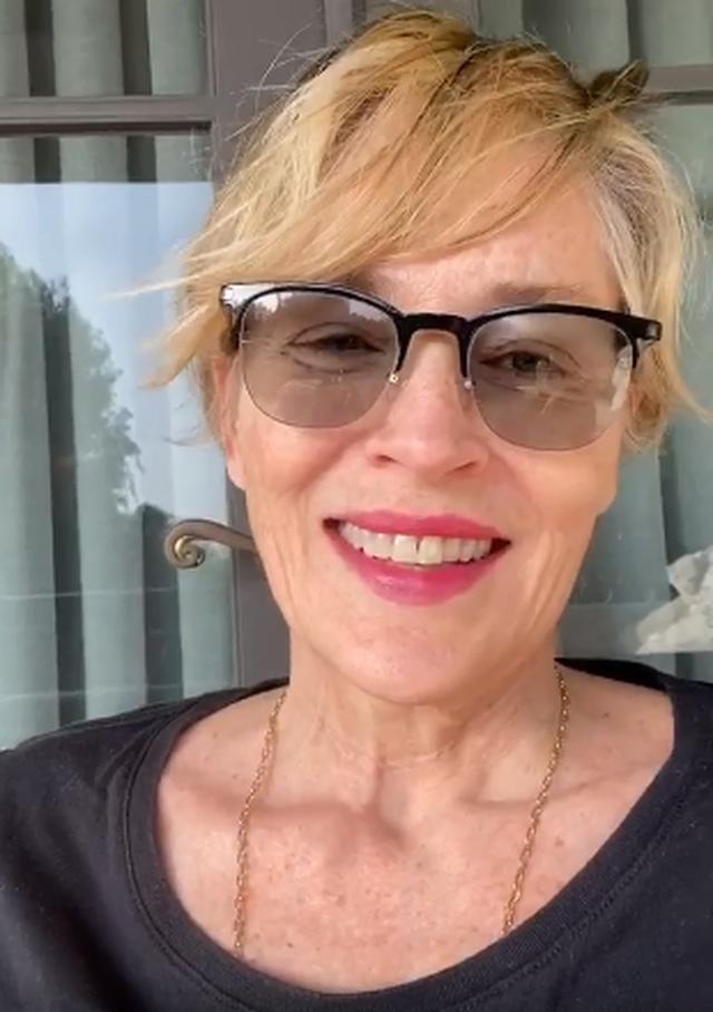 Video/ Sharon Stone mesazh Papës, pas deklaratës për martesat