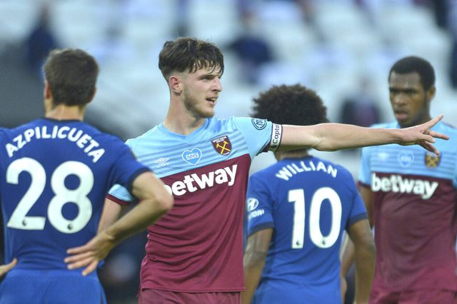 """West Ham """"leaves"""" Chelsea, renewal and higher salary for Declan Rice"""