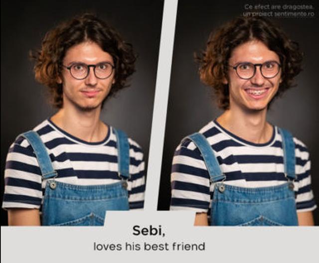 Çfarë fytyre ka dashuria? 10 fotot e njerëzve para dhe pasi iu