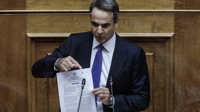 Kryeministri grek nga Parlamenti për Detin: E drejta për t'u