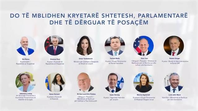 Mbahet sot online Forumi Ballkanik kundër Anti-Semitizmit! Pompeo, Sassoli