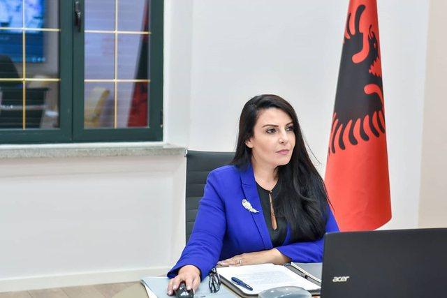 Ministrja Belinda Balluku rezulton pozitive ndaj Covid-19