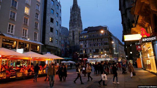 Austria vendos mbyllje të dytë kombëtare deri me 6 dhjetor