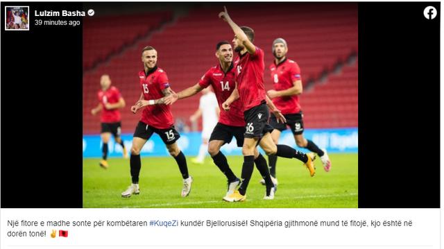 Shqipëria fitoi përballë Bjellorusisë, reagimet e