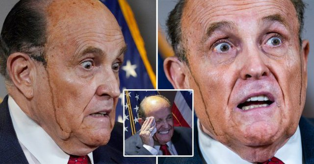 Video/ Avokatit Rudy Giuliani i del boja