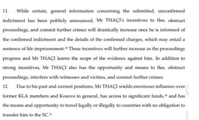 Kryeprokurori i Gjykatës së Hagës pretendon burgim të