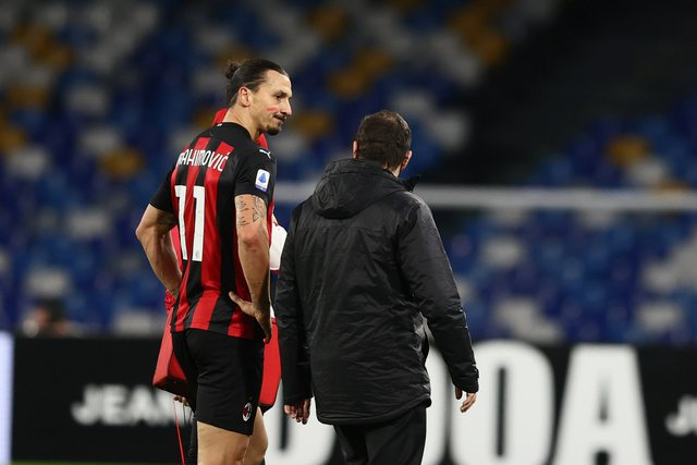 Ibra is missing in the next 3 matches, after 10 days another answer is expected