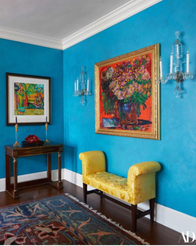 Në shtëpinë shumëngjyrëshe të Bill dhe Hillary