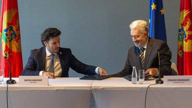 Shqiptari Dritan Abazoviç propozohet zv.kryeministër i Malit të