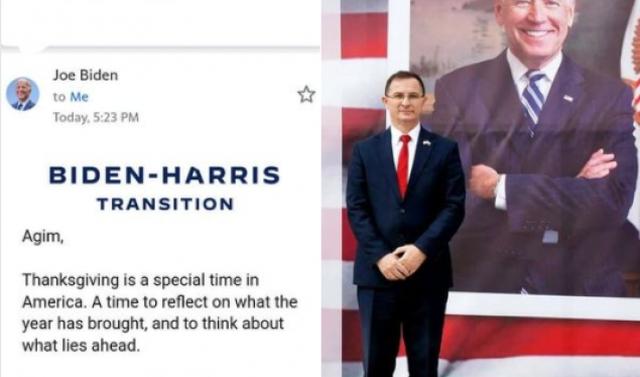 Kreu i Shoqatës 'Miqtë e Amerikës' sqaron letrën e