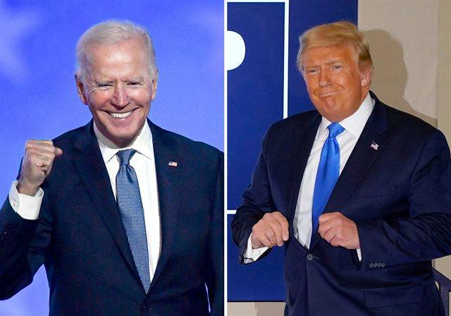Biden thyen këmbën duke luajtur me qenin e tij, Trump i uron
