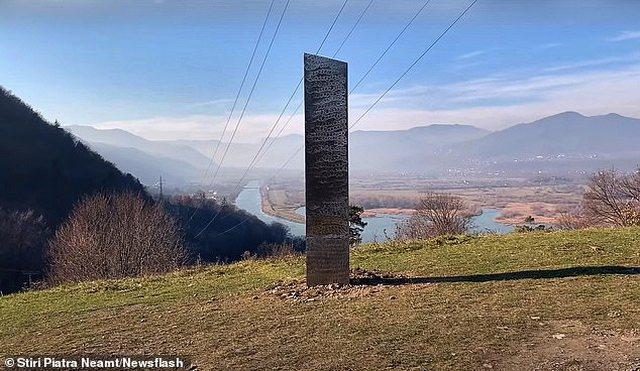 Një objekt misterioz shfaqet në një nga shtetet në Ballkan,