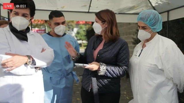 Mjekja Najada Çomo sqaron shqetësimin e familjarëve të