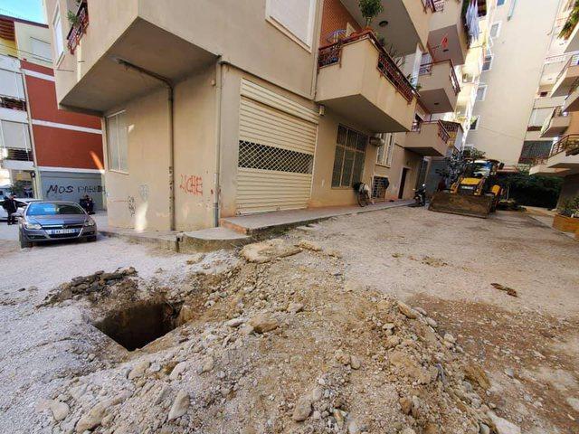 Foto/ Një tjetër rrugë e Tiranës po transformohet