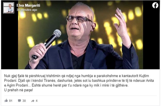 Djali që i këndoi Tiranës, dashurisë e jetës! Miq dhe