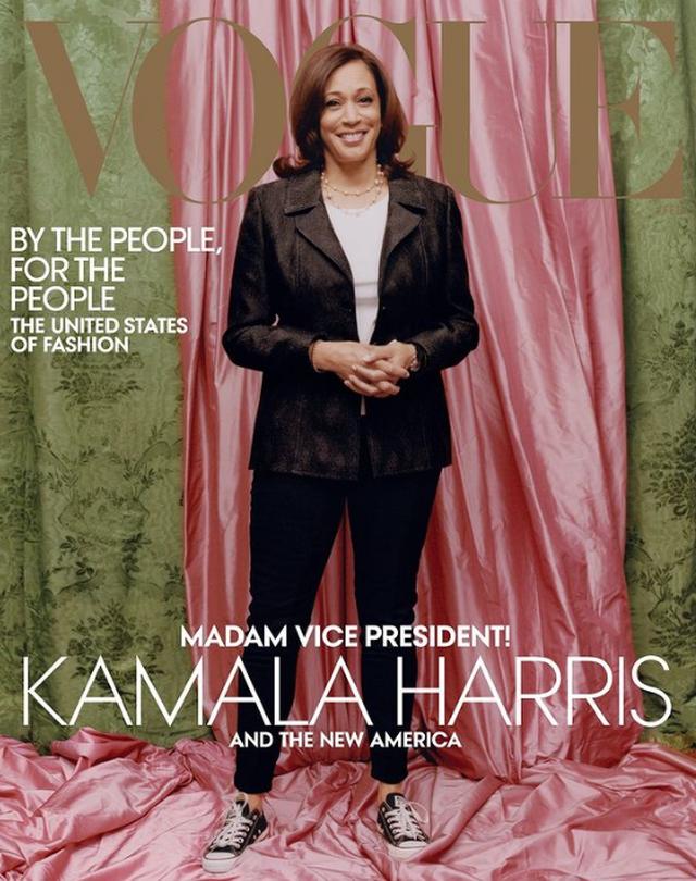 Kopertina e Vogue me Kamala Harris po kryqëzohet nga rrjeti