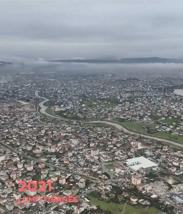 Veliaj releases the video and shows the transformation of the Tirana River: The