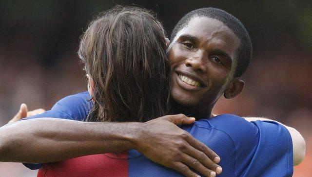 Eto'o s'ka dyshime, tregon trashëgimtarin e Messit te Barcelona