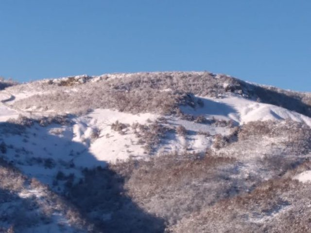 Photo / Temperatures drop significantly. Korça and Dibra under the snow