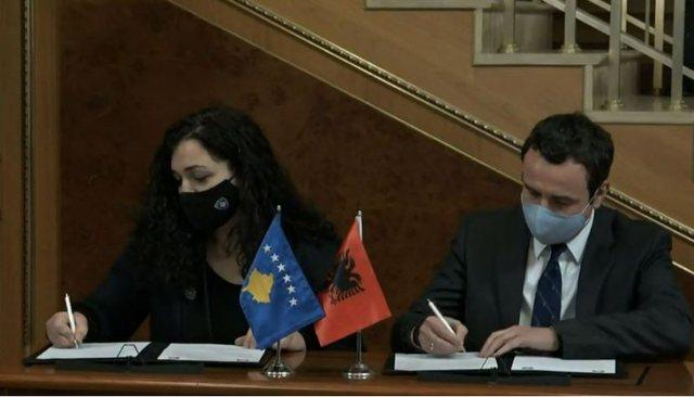 Albin Kurti dhe Vjosa Osmani garojnë bashkë në zgjedhjet e 14