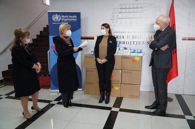 OBSH sjell 1000 oksimetra të dhuruara nga Gjermania për pacientët