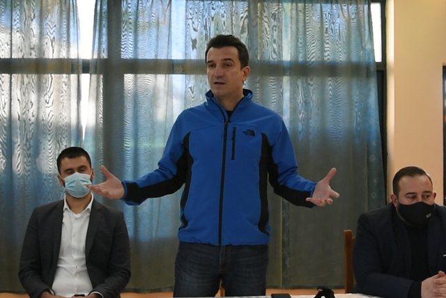 """""""Mandati i tretë për PS historik"""", Veliaj nga Rrogozhina:"""