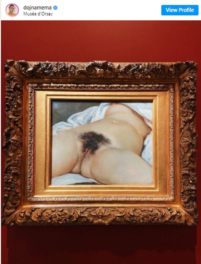 Dojna flet një vit pas publikimit të pikturës së famshme: