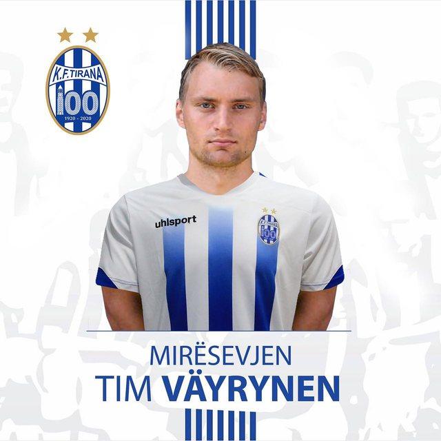 Tirana strikes again, officializes the Finnish striker