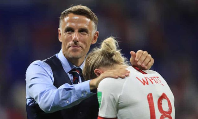 Phil Neville is named David Beckham's coach
