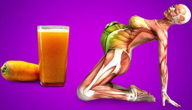 Çfarë i bën trupit një lëng karote në ditë?