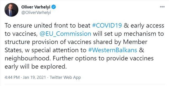KE mekanizëm për të strukturuar sigurimin e vaksinave, në